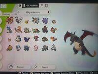 Pokemon Sword/Shield bundle ALL 24 GIGANTAMAX Pokemon Ultra Shinny 100% Legal