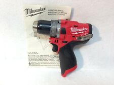 Brand New Milwaukee 2504-20 M12 12v Fuel Brushless 1/2� Hammer Drill Tool-Only