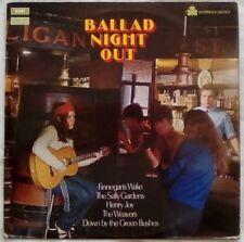 Ballad Night Out, Irish folk LP EMI Talisman STAL6022 Liberties Bards Doyle etc.