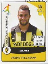 N°148 NGAWA # BELGIQUE LIERSE.SV UJPEST.FC STICKER PANINI PRO LEAGUE 2015