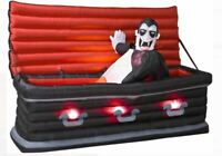 5.5' Gemmy Airblown Animated Inflatable Vampire from Rising Coffin ORIGINAL!!