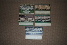 Lot of (5) Different 1950's-60's World Champions Team Newspaper Colofotos-Nice!