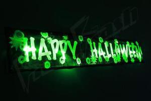 Flashing Halloween decoration  3FT prop light up party spider pumpkin green led