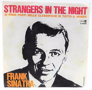 "Ten Vinyl Records Frank Sinatra Strangers IN The Night 45 RPM 7 "" Vinyl LP"