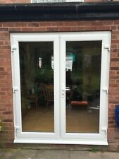 UPVC FRENCH DOORS 1200mm x 2100mm WITH LOW THRESHOLD £324