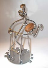 Retirement 40 50 60 70 Rugby player zimmer walking frame funny birthday gift