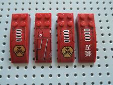 Lego 4 x Stein gewölbt Bogenstein 30165 2x2 rotbraun 3189 3185