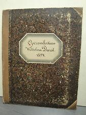 Sammelband Diverse Opernmelodien um 1894