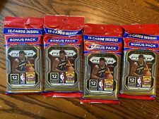 2020-21 Panini Prizm NBA Basketball Cello Pack 15 Cards Brand New! *LOT OF FOUR*
