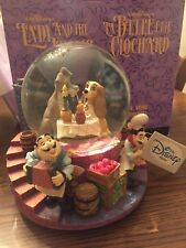 Disney Lady And The Tramp Snowglobe