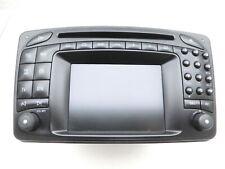 Navigationssystem Navi Command 2.0 E Headunit Doppeldin für W203 S203 C220