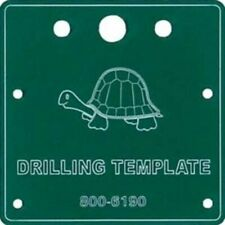 Circuitron 800-6190 - Tortoise Drilling Template