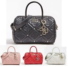 Shanina Logged Quilted Satchel Handbag 4 Colors Women Tote Bags NWT VG743206