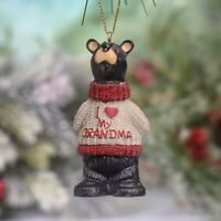 I Love My Grandma Bearfoots Christmas Ornament Tree Decoration