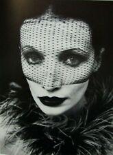 """Irina Ionesco montado Impresión de fotografía 16 X 12"""" 1975 II20 Erotica lesbiana Gótico"""