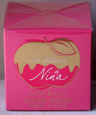 Les Delices De Nina by Nina Ricci 50 ML/ 1.7 OZ Pink Genuine EDT Limited Edition