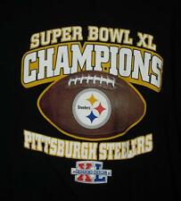 Pittsburgh Steelers shirt New sz Large Superbowl Xl 50 Champions Mint 2006 Nfl