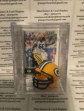 Julius Peppers Green Bay Packers Mini Helmet Card Display Collectible DE LB Auto
