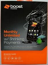 Boost Mobile Kyocera Hydro KYC5170(Black)(Included Free $35.00 Unlimited Plan)