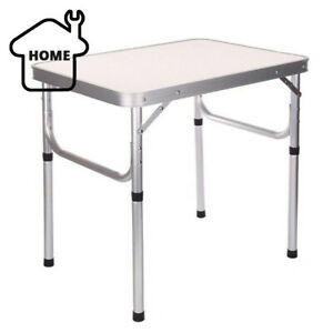 Portable Folding Table Step Up Stool Camping Outdoor Picnic Party BBQ