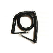 Steren 15-foot Coiled Handset Phone Cord - Black (302-015BK)