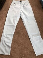 "Valentino Jeans W28"" - 30"". L32"" Chinos Brand New. Superb Iconic Jeans. Free P&P"