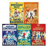 David Baddiel 5 Books Children Collection Paperback Set (Birthday Boy,AniMalcolm