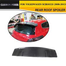 Carbon Fiber Rear Roof Lip Wing Spoiler Fit for 08-13 Volkswagen VW Scirocco