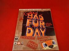 Conker's Bad Fur Day Nintendo 64 N64 Strategy Guide Player's Hint Book