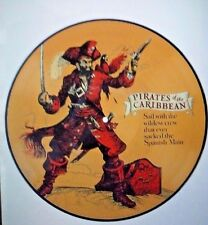 Disney Parks Songs from the Pirates of the Caribbean, Picture Vinyl Record, NEW