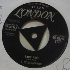 """Little Richard (7"""" Vinyl 1958 1st Issue)Baby Face-London-HLU 8770-UK-Ex/Ex-"""
