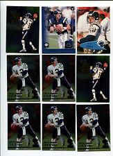 Erik Kramer 9 card lot North Carolina St. Wolfpack / San Diego Chargers