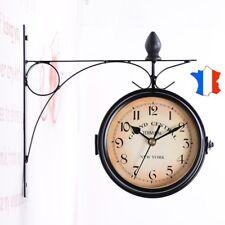 "Horloge murale ""Hall de Gare New-York"" décoration originale cuisine salon garage"