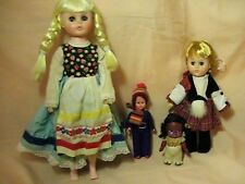 Vintage 4 Dolls Vogue Eegee and other