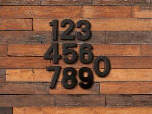 """3"""" Metal Modern Steel House Numbers / Metal Address Numbers and Letters / Steel"""
