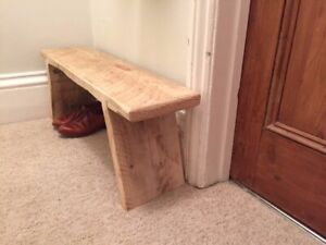 Reclaimed Natural Rustic Scaffold Board Bench for all Rooms