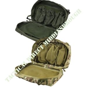 TACTICAL ARMY MEDIC BERGEN SIDE POUCH FIRST AID STORAGE BAG MTP BTP CAMO GREEN