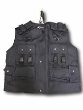 Paintball, Airsoft Molle Style Combat Vest,Fishing Vest ,Black XXL New  last few