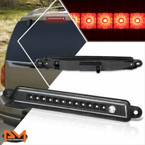 For 04-15 Armada/Infiniti QX56 Full LED Tail Brake Light Rear Stop Lamp Black