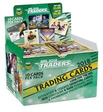 NRL 2018 RUGBY LEAGUE - Traders Trading Cards ~ Sealed Box (36ct) #NEW