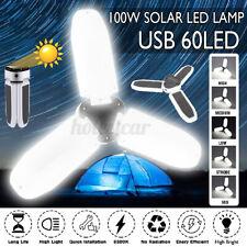 60 LED Solar Wall Lamp Waterproof Outdoor Path Garden Landscape Security
