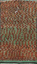 Vintage Checkered Modern Moroccan Area Rug Hand-knotted Home Decor Carpet 6'x9'