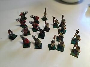 WARHAMMER AGE OF SIGMAR LOT WARRIORS OF CHAOS CLASSIC BEASTMEN GORS MONOPOSE