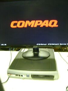 Vintage Compaq Evo D510 - Pentium 4 - 2.00GHz, 512MB, 40GB, CD-ROM, Windows XP