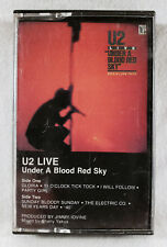 U2 - U2 Live: Under a Blood Red Sky (1983 Island Cassette Tape - Dolby) *Club Ed