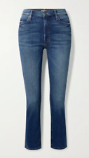 MOTHER The Dazzler Blue Mid Rise Straight Leg Jeans - Size 26