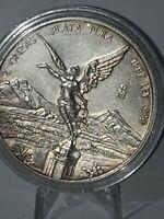 1997 Libertad 2 oz .999 Fine Silver Coin VERY RARE SCARSE  KEY DATE!!!!!