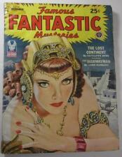 FAMOUS FANTASTIC MYSTERIES DEC 1944 LOST CONTINENT CUTCLIFFE HYNE LORD DUNSANY