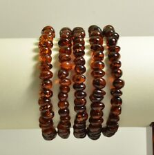 baroque cherry color bracelet Ta-2037 Lot 5 wholesale Baltic amber