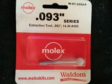 Molex Waldom W Ht 2054 Extraction Tool 14 30 Awg 093 Series